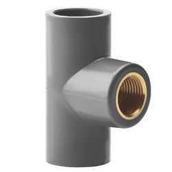 Lexicon UPVC Brass Tee