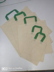 Le Vishnik Natural (off-white) Cotton Carry Bags, Capacity: 0.5 Kgs. To 15 Kgs., Size: 8 X 10 To 20 X 20