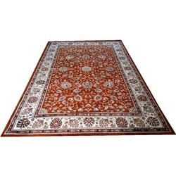 Nylo Wool Persian Design Superior Quality Kaynat Woolen And Cotton Carpet, Size: 6 X 9 Feet