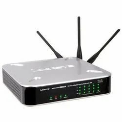 LAN Capable Black Cisco Linksys Wireless Router