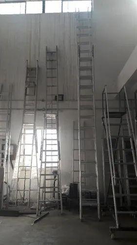 Aluminium Ladders - Aluminium Wall Mounted Ladders