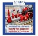 Automatic Fire Hydrant System for Industry, Warehouses Fire Fighting Hydrant System