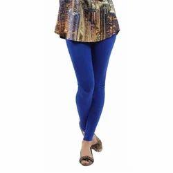Blue Churidar Ladies Plain Legging