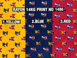 Rayon Printed Fabrics 14Kg