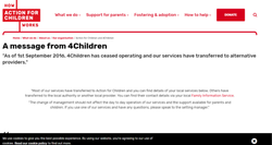 Adoption Website Designing Service