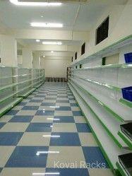 Departmental Store Shelves