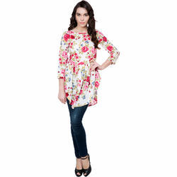 ee3c1abc94 V-Neck Full Sleeve Digital Printed Top