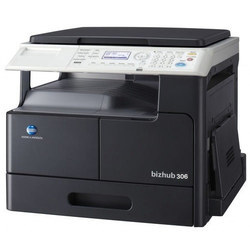 Konica Minolta Bizhub 306 MFD Machine, Print Speed: 306:30 PPM