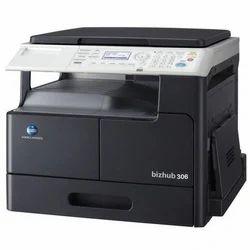 Konica Minolta Bizhub 306 MFD Machine, Print Speed: 306:30 PPM