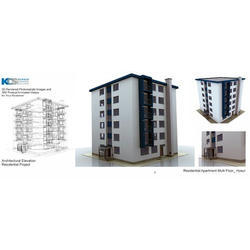 3D Architecture Image Designing Service
