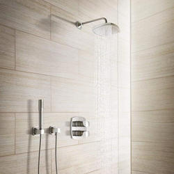 Contemporary Wall Mounted Hanging Bathroom Shower
