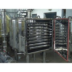 DPM Stainless Steel Vacuum Tray Dryer
