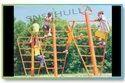 SNS 328 Triple Twist Playground Climber