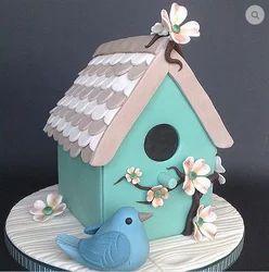 The Bird House Cake
