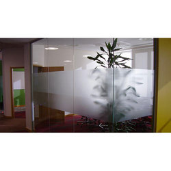 Plain Frosted Glass Film