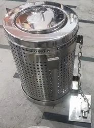 Stainless Steel Railways Dustbin