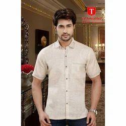 Cotton  Half Sleeves Stylish Designer Shirt