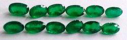 Natural Green Emerald Gemstones