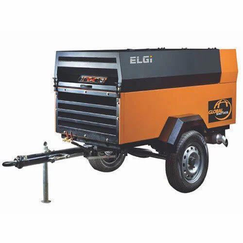 Trolley Mounted Air Compressor