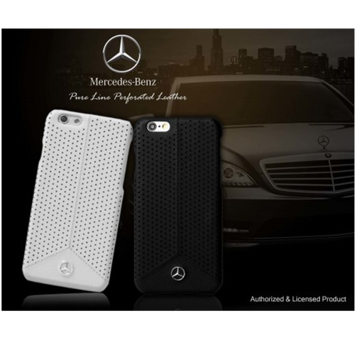 sale retailer 5e6dc 6f043 Mercedes Benz Apple iPhone 7/8 Pure Line Perforated Genuine Leather ...