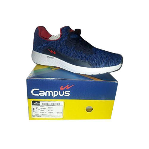Campus Navy Blue Running Shoes, Size: 7