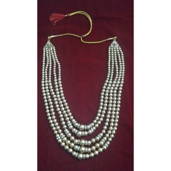 Groom Golden Pearl Mala