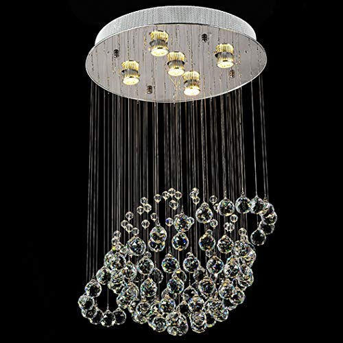 Crystal Ball Chandelier Shape Square