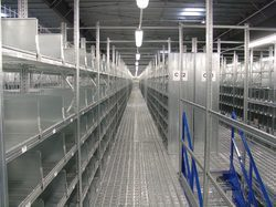 Two Three Tier Structure Racks