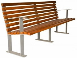 Designer Stainless Steel Benches