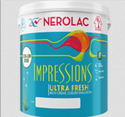Nerolac Impression Ultra Fresh Paints, Packaging Type: Bucket