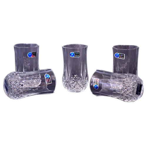 Crystal Glass Set, Size: Medium