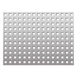 Aluminum Square Hole Perforated Sheet