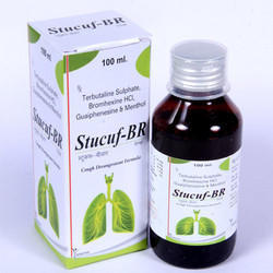 Terbutaline Sulphate, Bromhexine HCL, Guaiphenesin & Menthol Syrup