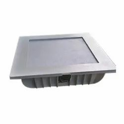 Aluminium Delite Square LED Downlight