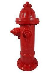 Cast Iron Red Fire Hydrants