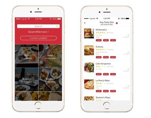 Apporio GrabTable Restaurant Table Booking App In Sohna Road - Table booking app