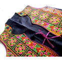 Sleeveless Embroidered Koti- Gujarati koti - Jacket - Embroidered Vest