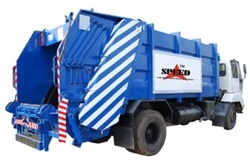 Manual Portable Waste Compactor, Capacity: 12000 L