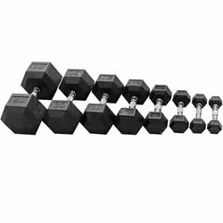 Fixed Weight Cast Iron Hex Dumbbell, Weight: 10 kg