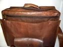 Vintage Leather Briefcase Shoulder Bag