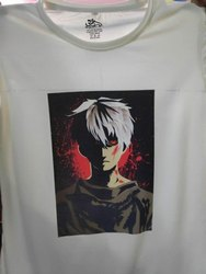 Unisex Poly Cotton T Shirt For Sublimation