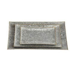 Decor Iron Tray for Home, Shape: Rectangle