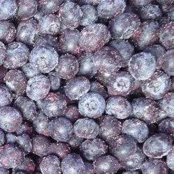 Fooda 1 Kg Frozen Blueberries (Vaccinium Angustifolium), Packaging Type: Packet