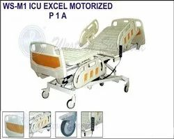 ICU Excel Motorized Bed, Plastic, Size/Dimension: 2150 X 965 X 510 - 730 Mm Ht