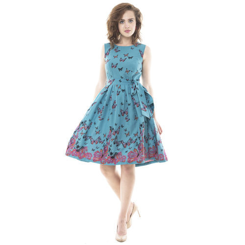 stylish western short dress for girls