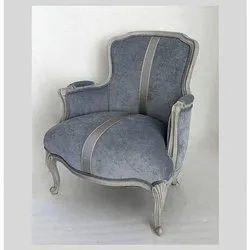 Modern Wooden Designer Chair, Back Style: Tight Back