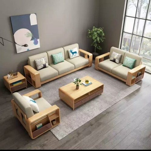 Applewood 6 Seater Office Wooden Sofa Set, Rs 1 /set ...