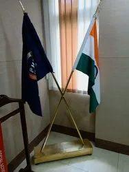 BRASS FLAG STAND