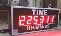 Jumbo GPS synchronized Clock