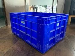 Plastic Crates for Fishery Double Layer, Capacity: 35kg Fish